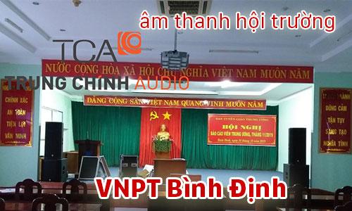 Bộ dàn âm thanh hội trường sân khấu, karaoke, phòng họp: VNPT Bình Định