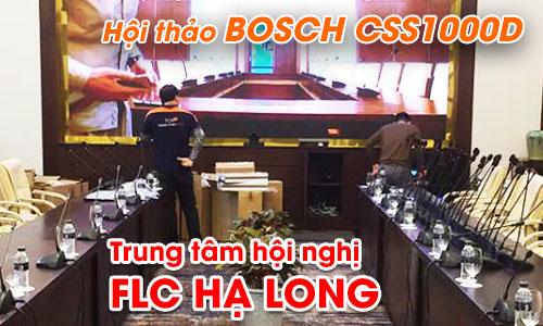 Hệ thống hội thảo BOSCH CSS1000D âm thanh phòng hop: Trung tâm hội nghị FLC Hạ Long