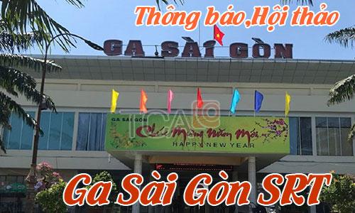 Hệ thống thông báo,âm thanh hội thảo phòng họp hội thảo: Ga Sài Gòn  SRT