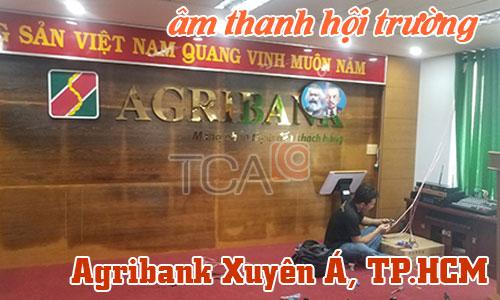 Dàn âm thanh hội trường, bộ karaoke, phòng họp: Agribank Xuyên Á, TP.HCM