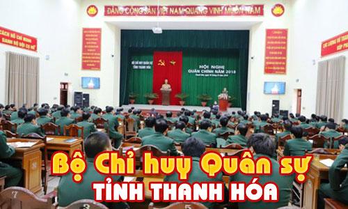 Tư vấn, lắp đặt dàn âm thanh hội trường sân khấu: Bộ chỉ huy quân sự tỉnh Thanh Hóa