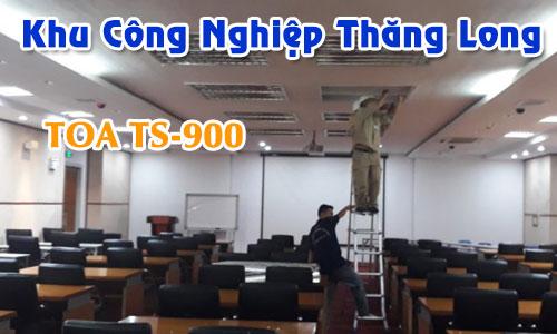 Hệ thống hội thảo không dây TOA TS-900: âm thanh phòng họp KCN Thăng Long