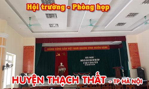 Bộ dàn thanh cho hội trường, phòng họp: huyện Thạch Thất, Hà Nội