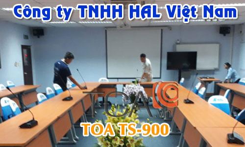 Hệ thống hội thảo TOA TS-900 Âm thanh phòng họp hội nghị: HAL Việt Nam