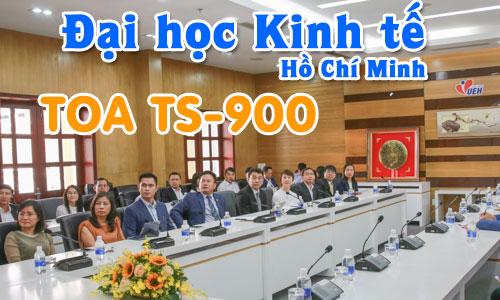 Hệ thống âm thanh hội thảo TOA TS-900: Phòng họp hội nghị Trường Đại học Kinh tế HCM