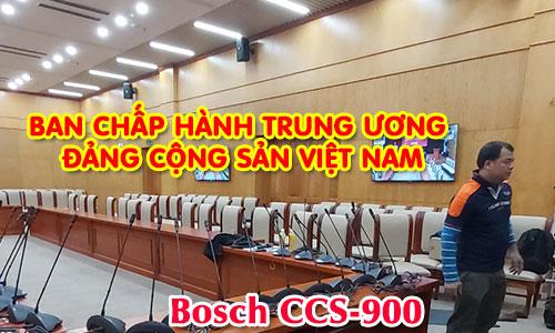 Hệ thống âm thanh hội thảo BOSCH CCS900: phòng họp hội nghị BCHTW