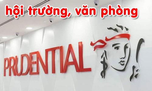 Lắp đặt hệ thống âm thanh hội trường, văn phòng cho công ty Prudential