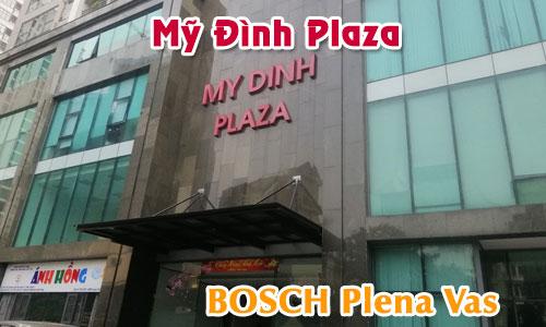 hệ thống âm thanh tòa nhà Mỹ Đình Plaza