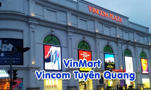 Hệ thống âm thanh siêu thị cửa hàng VinMart: Vincom Tuyên Quang