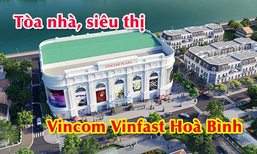 Hệ thống âm thanh thông báo tòa nhà, siêu thị: Vincom Vinfast Hoà Bình
