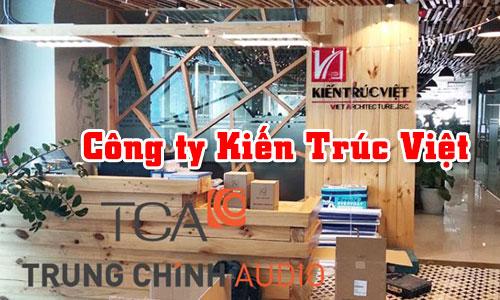 Hệ thống âm thanh văn phòng công ty: Bộ dàn âm thanh Kiến Trúc Việt