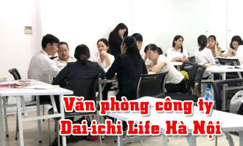 Hệ thống âm thanh ánh sáng: Văn phòng công ty Dai-ichi Life Hà Nội