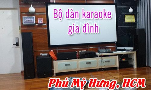 Lắp đặt bộ dàn karaoke gia đình: Quận 7, tp.HCM