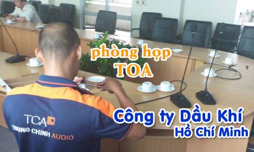 Âm thanh phòng họp hội trường: Công ty Dầu Khí Hồ Chí Minh