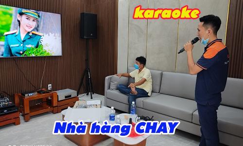 Lắp đặt âm thanh karaoke cho nhà hàng CHAY Thiên Phước, quận Tân Bình