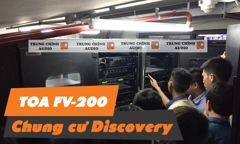 Âm thanh thông báo TOA FV-200: tòa nhà, chung cư, văn phòng Discovery