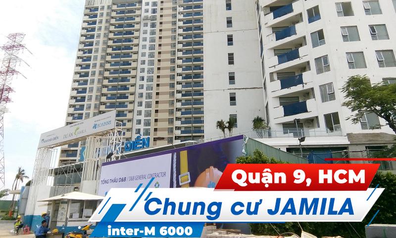 Hệ thống âm thanh thông báo Inter-M 6000: Chung cư JAMILA, Quận 9, HCM