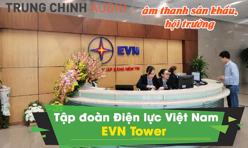 Dàn âm thanh sân khấu hội trường chuyên nghiệp: EVN Tower