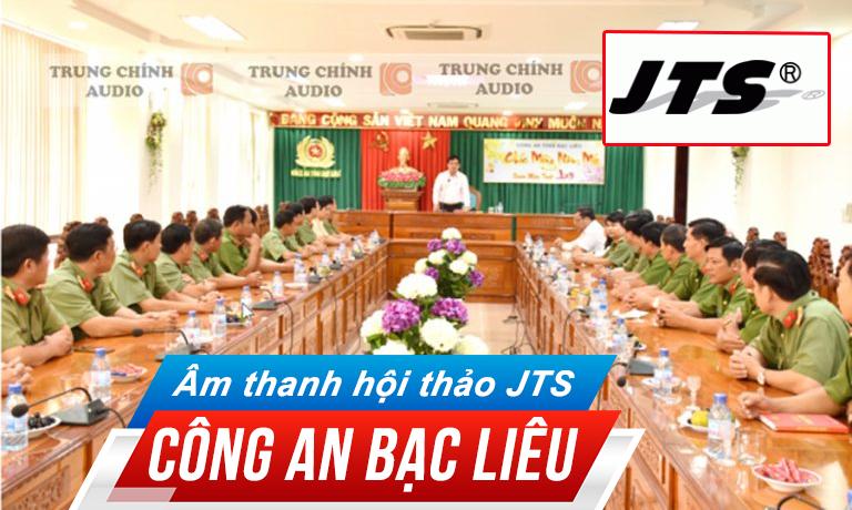 Hệ thống hội thảo JTS âm thanh phòng họp hội thảo, hội nghị: công an Bạc Liêu