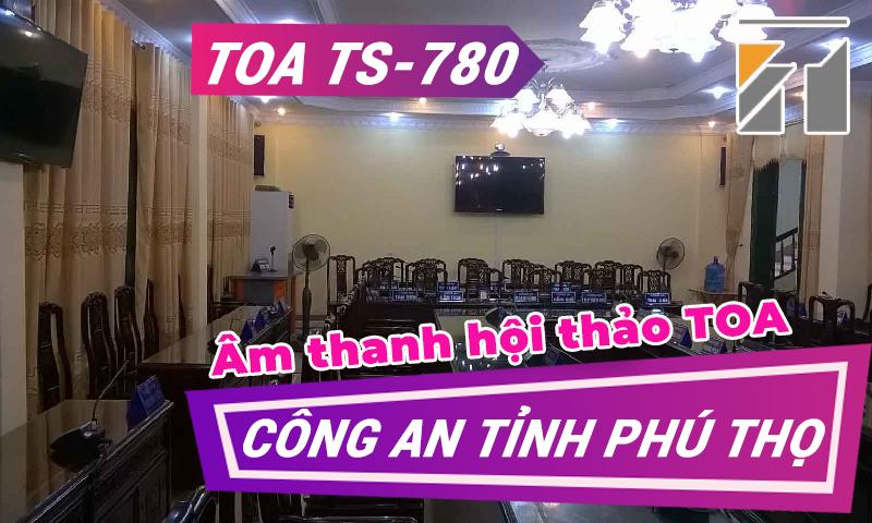 Hệ thống âm thanh phòng họp, hội nghị, hội thảo: Công An tỉnh Phú Thọ