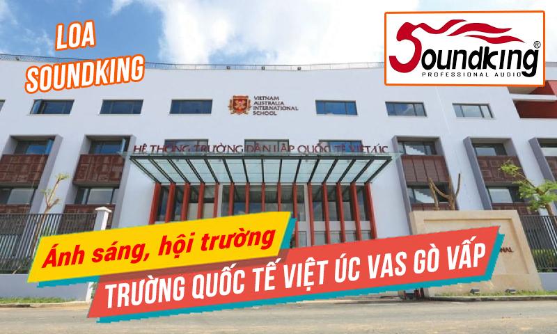 Âm thanh ánh sáng hội trường sân khấu trường học: Quốc Tế Việt Úc VAS Gò Vấp, Hồ Chí Minh