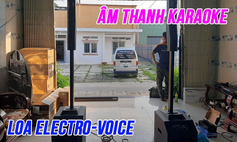 Âm thanh karaoke cao cấp Electro Voice: Gia đình anh Tân, Bà Rịa Vũng Tàu