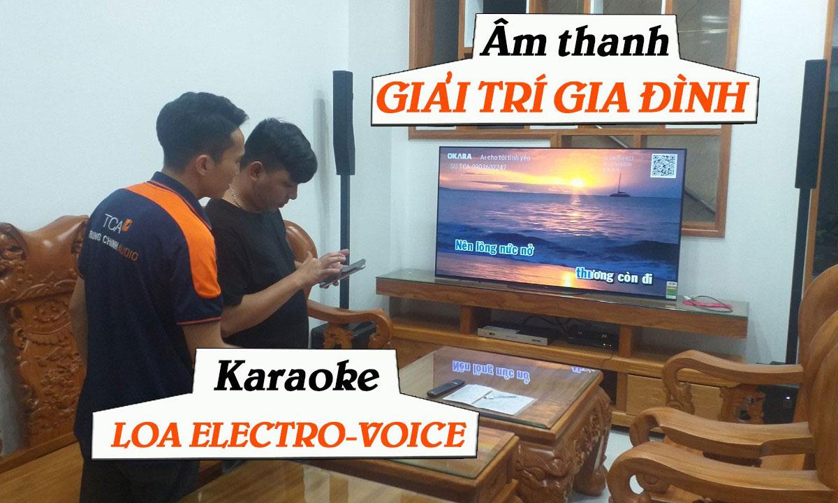 Dàn karaoke, âm thanh giải trí gia đình: Anh Vũ, Bình Dương