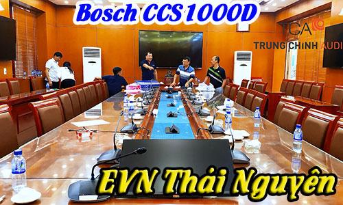 Lắp đặt âm thanh phòng họp trực tuyến hội nghị hội thảo Bosch: EVN Thái Nguyên