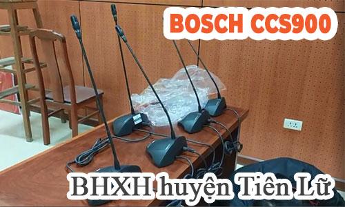 Hệ thống hội thảo họp trực tuyến điểm cầu: Bảo hiểm xã hội huyện Tiên Lữ, Hưng Yên