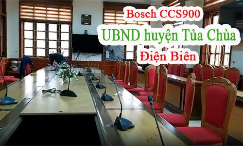 Hệ thống âm thanh hội nghị trực tiếp Bosch CCS900: UBND huyện Tủa Chùa, Điện Biên