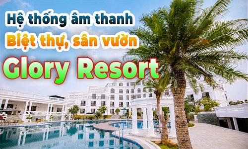 Bộ dàn âm thanh giải trí loa Electro Voice ELX200 tại Glory Resort, Sơn Tây