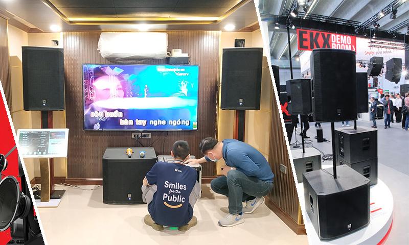 Dàn âm thanh giải trí ca hát cao cấp Electro Voice tại: KĐT Gamuda Gardens, Hà Nội