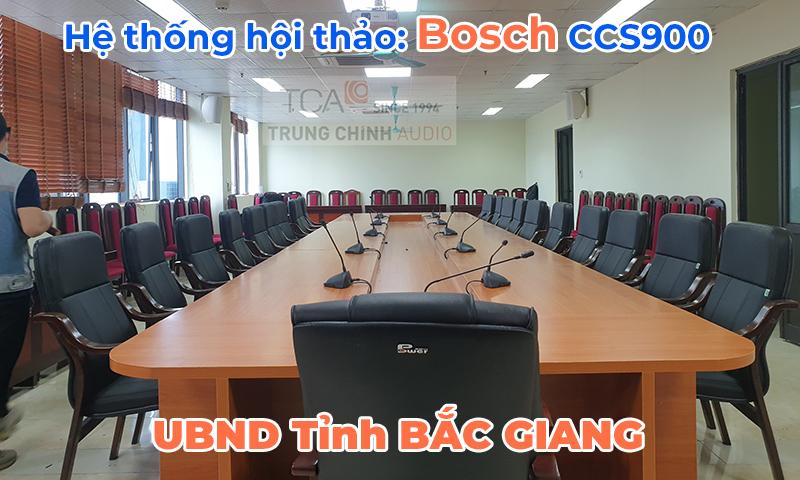 Lắp đặt âm thanh hội thảo hỗ trợ tổ chức họp thường kỳ quốc hội tại Tỉnh Ủy Bắc Giang
