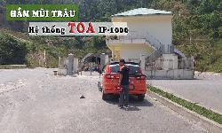 Hệ thống thông báo mạng TOA IP-1000 âm thanh hầm đường bộ: Hầm Mũi Trâu, Đà Nẵng