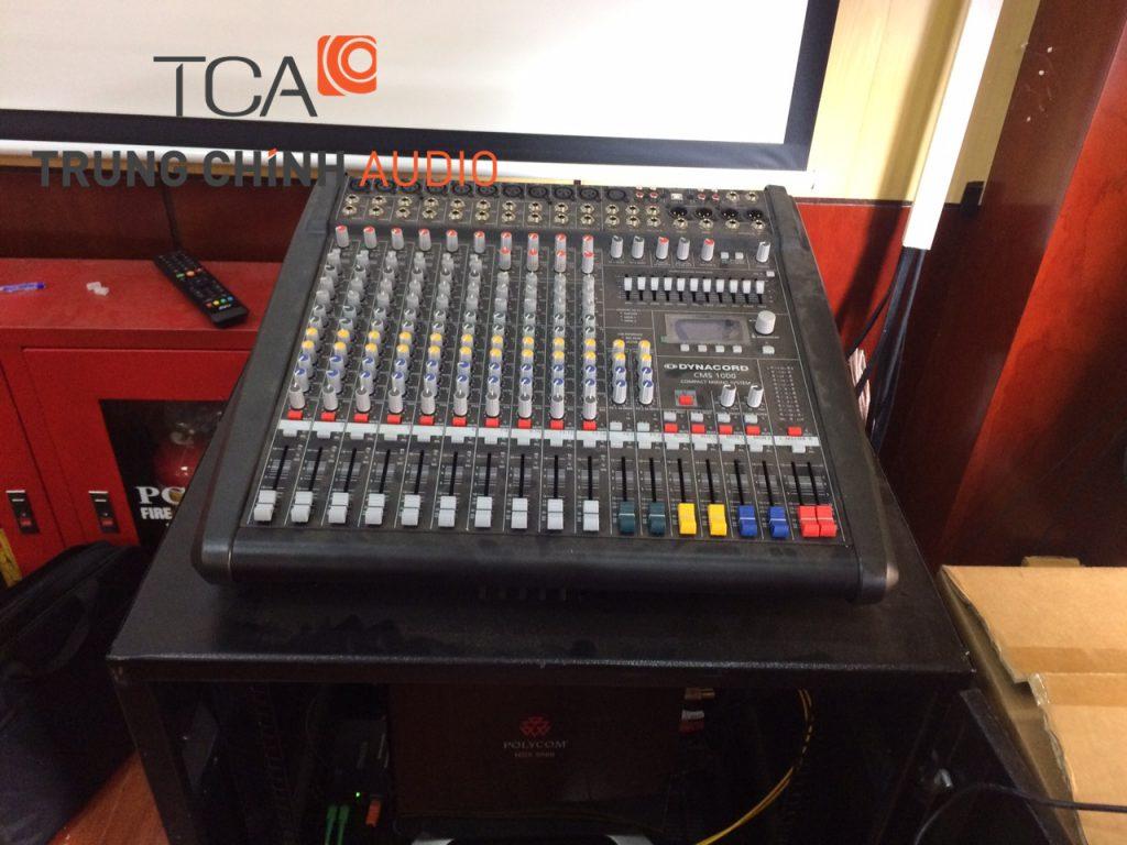Âm thanh phòng họp: hệ thống hội thảo, hội nghị cho UBND TP Lạng Sơn