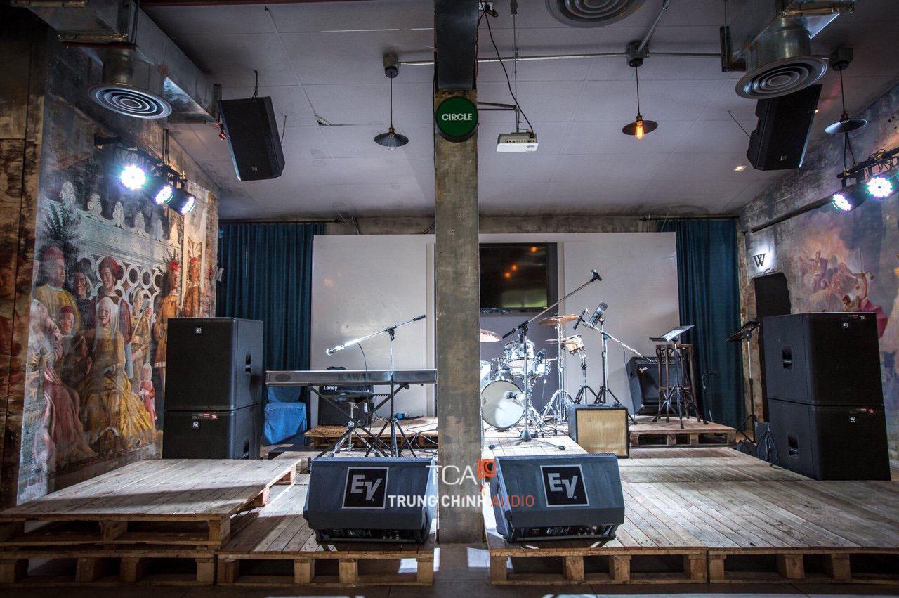 Bộ dàn âm thanh quán cafe loa EV Electro-Voice: Nghe nhạc, sân khấu chuyên  nghiệp