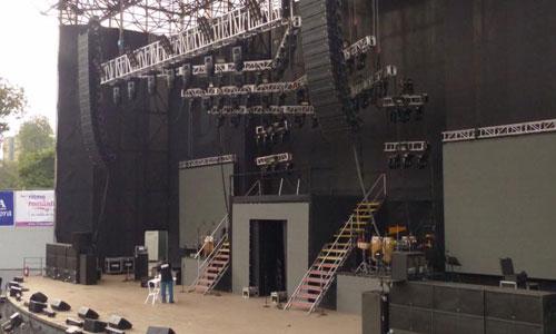 âm thanh, ánh sáng sân khấu tổ chức sự kiện
