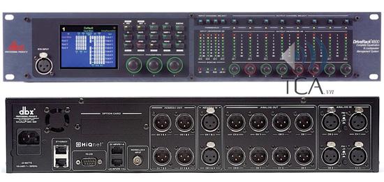 DriveRack DBX 4800