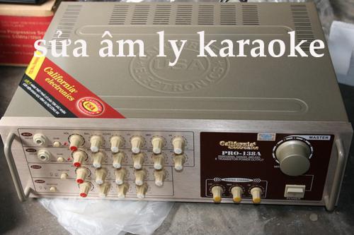 âm ly karaoke